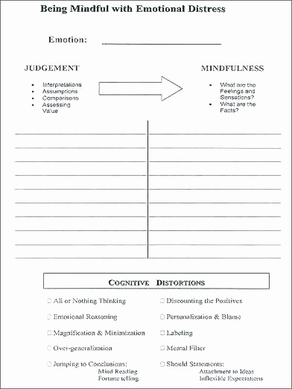 Feelings and Emotions Worksheets Printable social Emotional Worksheets