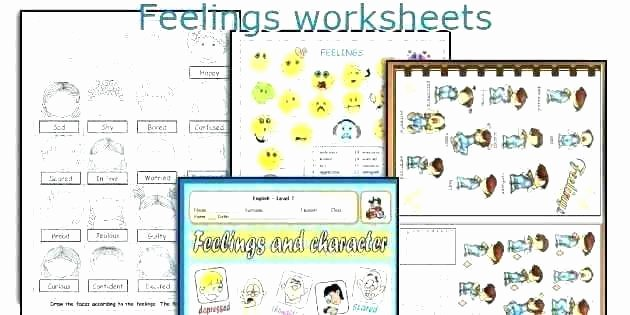 Feelings Worksheets for Adults Beautiful Similar for Free Printable Feelings Worksheets