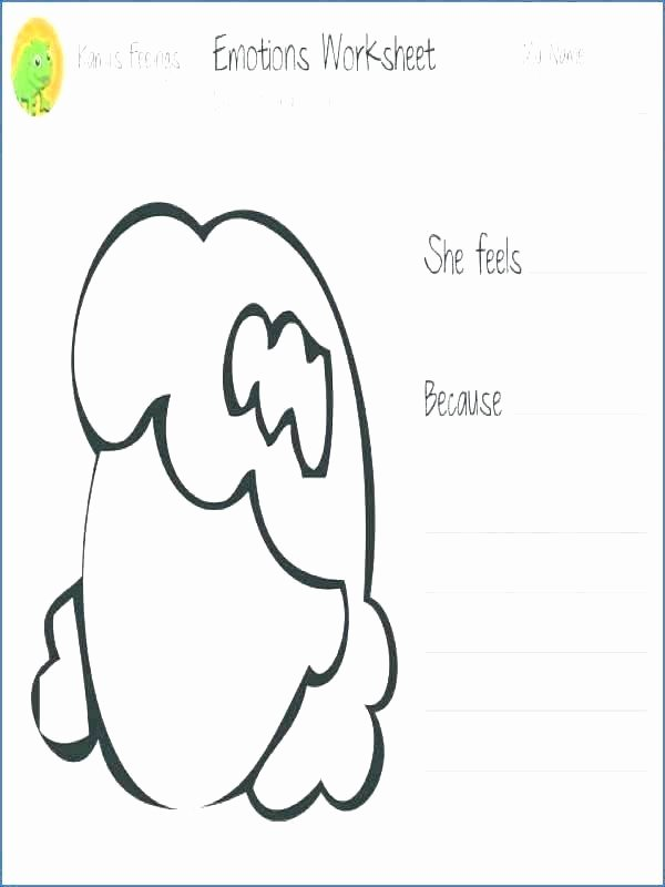 Feelings Worksheets for Kids Activities and Ideas for Sharing Emotions Feelings 5 Free