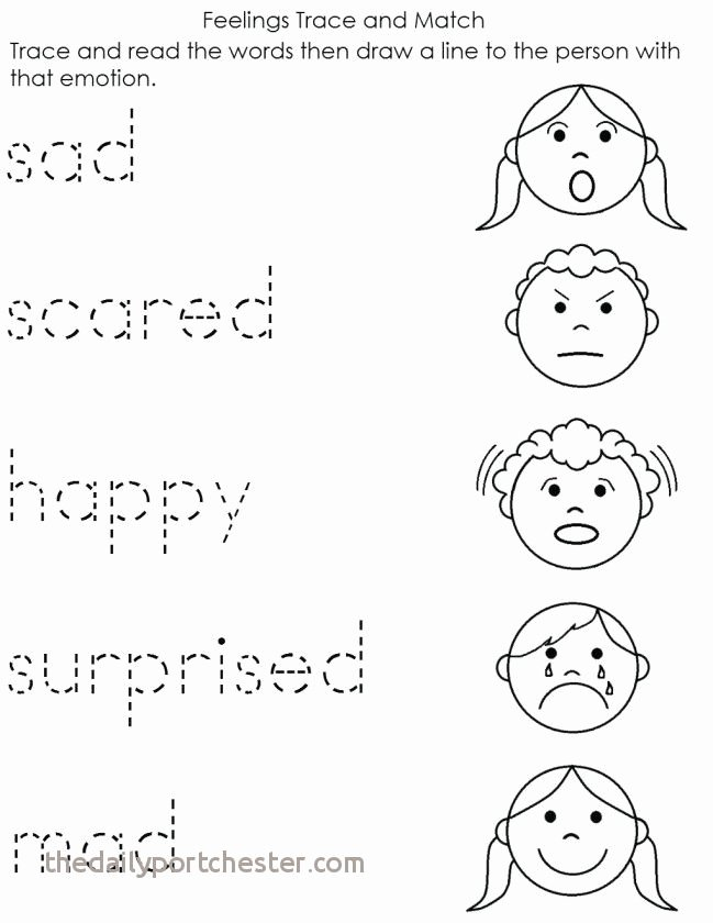 Feelings Worksheets for Kids Emotions Coloring Pages Unique Emotions Coloring Pages for