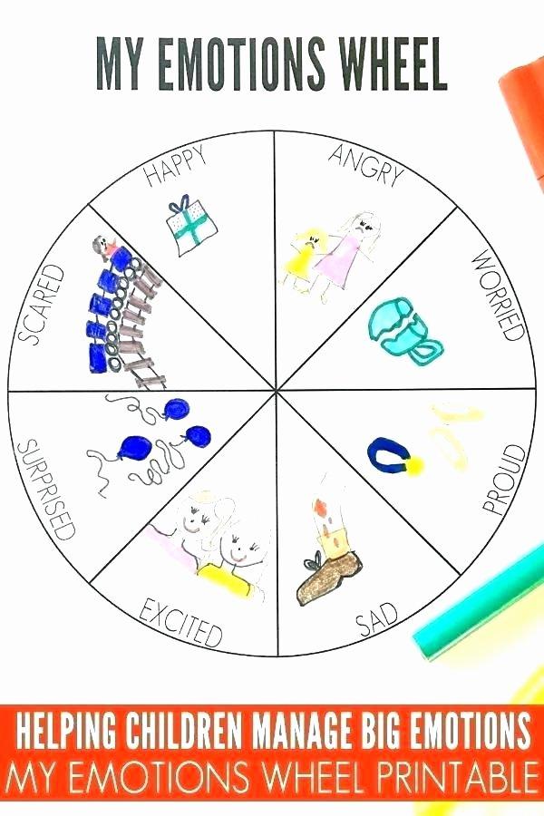Feelings Worksheets for Kindergarten Free Feelings and Emotions Worksheets for Kindergarten