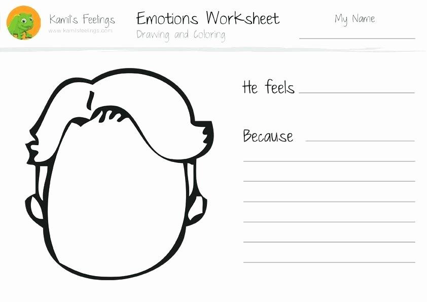Feelings Worksheets for Kindergarten Worksheets Paintings Search Result at Paintingvalley