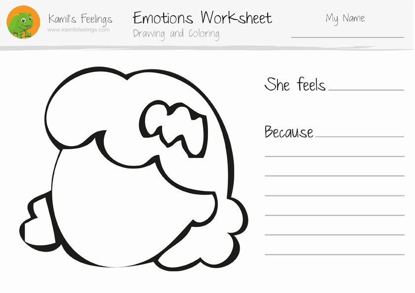Feelings Worksheets for Preschoolers Feelings and Emotions Worksheets Printable Elegant Emotion