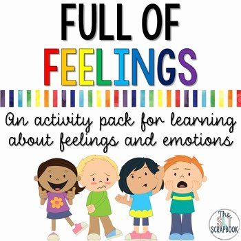 Feelings Worksheets for Preschoolers Understanding Emotions Worksheets and Activities Pack
