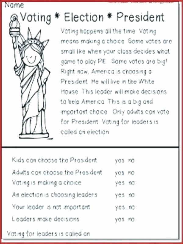Field Day Worksheets Election Day Worksheets Free Writing A Conclusion About