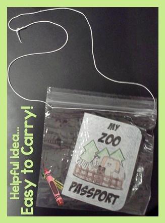 Field Day Worksheets Zoo Field Trip Passport & Printables