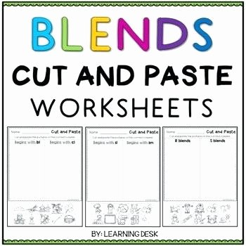 Final Blends Worksheets Beginning Blends Worksheets