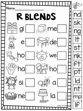 Final Blends Worksheets Beverly Mae Suarez Bevbe17 On Pinterest