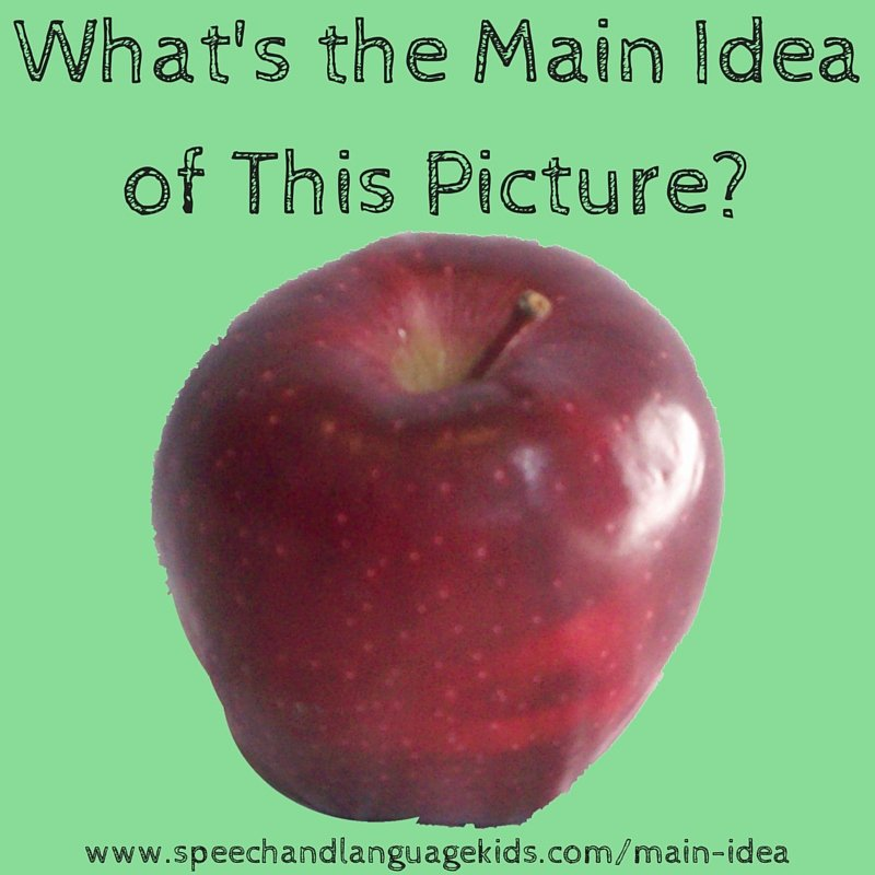 Finding the Main Idea Worksheet Helping Children to Identify Main Ideas and Supporting