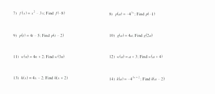Finding the Mean Worksheets Find X Worksheets