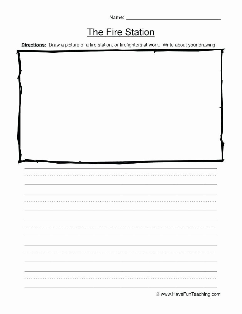 Fire Safety Worksheets Preschool Fire Drill Safety Worksheets
