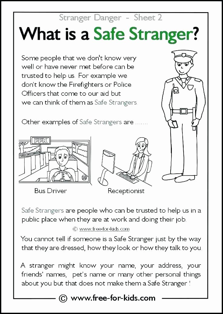 Fire Safety Worksheets Preschool Fire Safety First Grade Worksheets