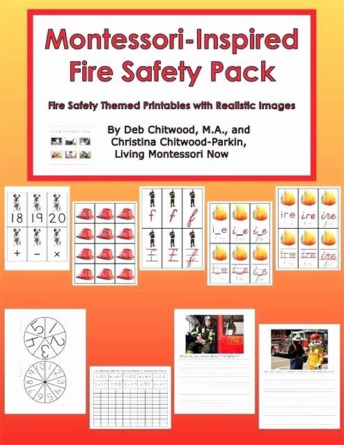 Fire Safety Worksheets Preschool Fire Safety Worksheets for Kids – Kinchen