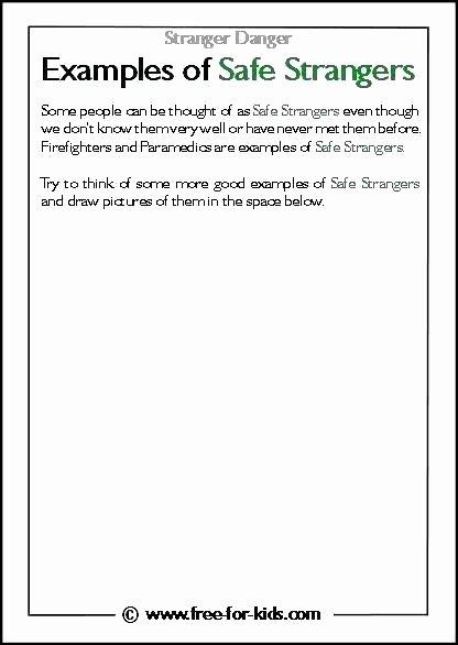 Fire Safety Worksheets Preschool Free Fire Safety Worksheets for Kindergarten