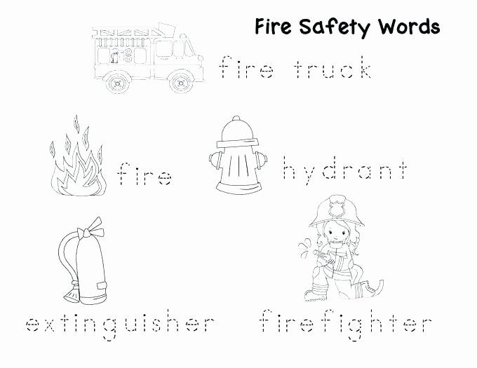 Fire Safety Worksheets Preschool Printable Bus Safety Worksheets