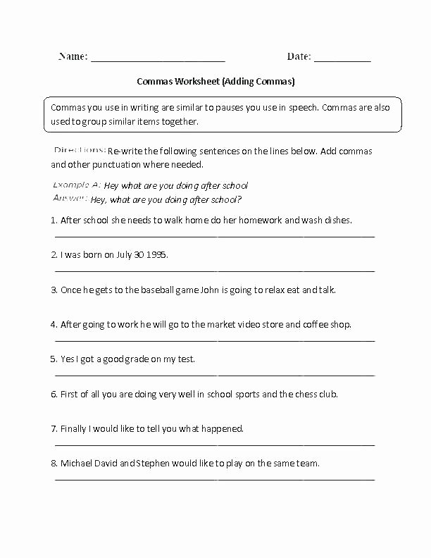 First Grade Capitalization Worksheets Awesome Grammar Capitalization Worksheets Punctuation Grade