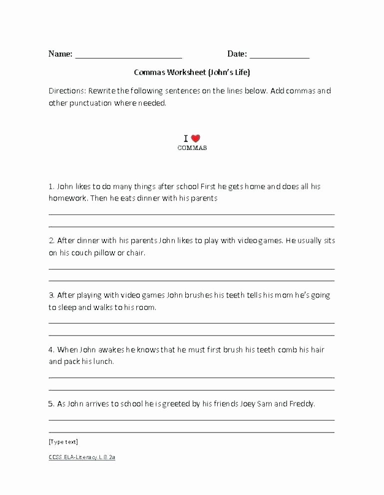 First Grade Punctuation Worksheets First Grade Sentence Writing Worksheets