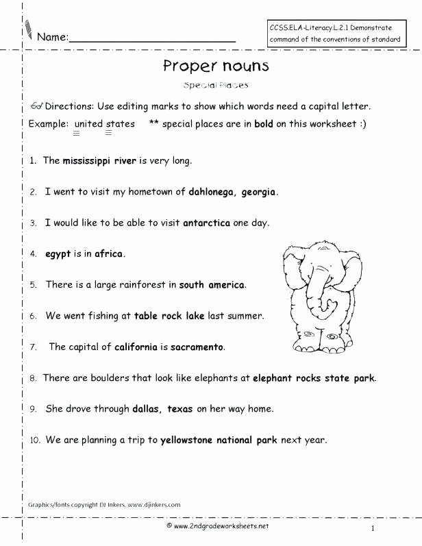 First Grade Punctuation Worksheets Punctuation Worksheets Basic Exclamation Marks Worksheet