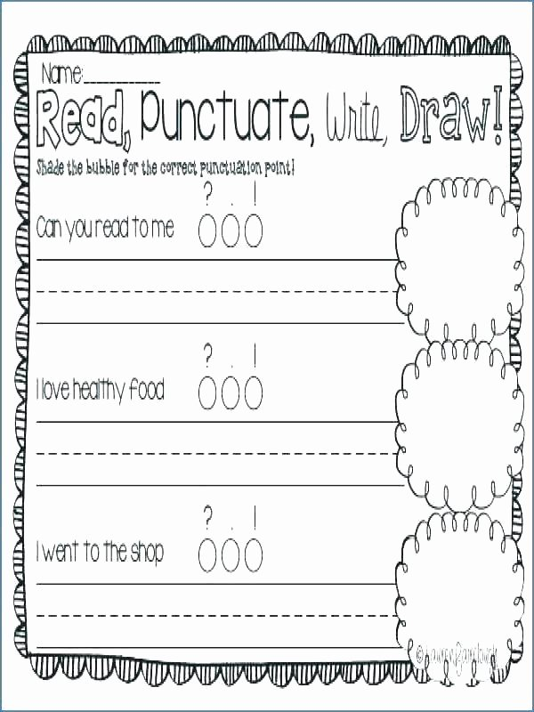First Grade Punctuation Worksheets Puncuation Worksheets – Openlayers