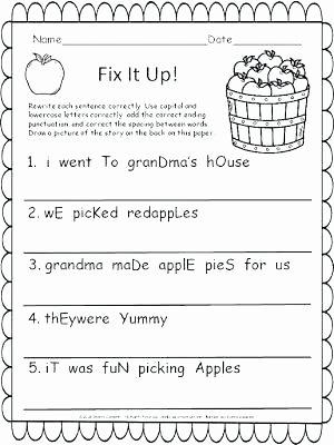 First Grade Sentence Worksheets Number Sentence Worksheets 4th Grade – Papakambing
