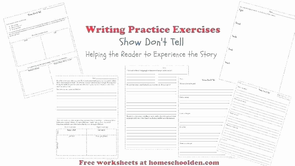 free descriptive writing worksheets printable handwriting sentence for first grade building 2