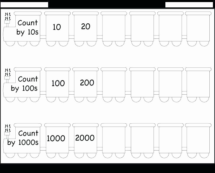First Grade Skip Counting Worksheets Math Worksheets Kindergarten Counting – Trubs