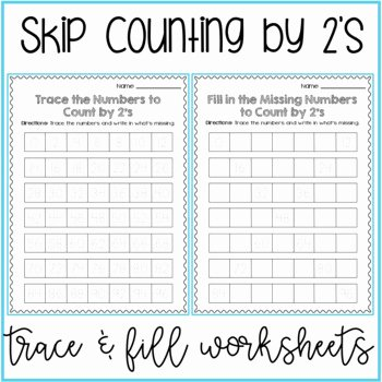 First Grade Skip Counting Worksheets Skip Counting by 5 Worksheets