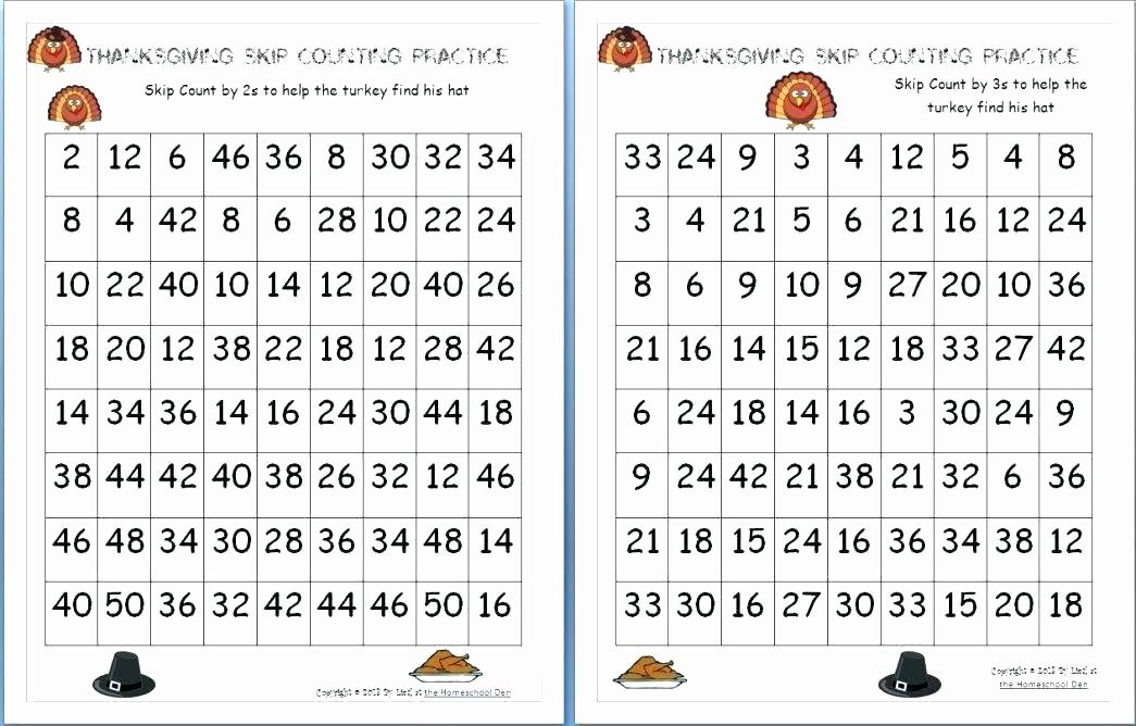 First Grade Skip Counting Worksheets Skip Counting Worksheets for Second Grade 1 Math – Owobox