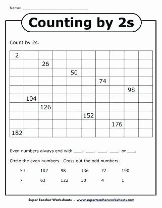 First Grade Skip Counting Worksheets Skip Counting Worksheets Grade by 3 for Math Curriculum