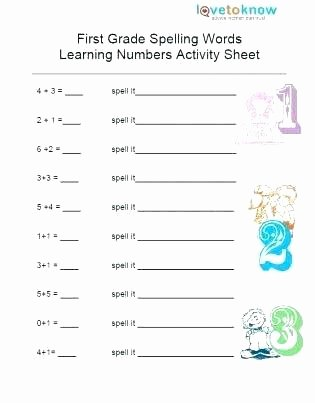 First Grade Spelling Words Worksheets 5th Grade Spelling Words Worksheets