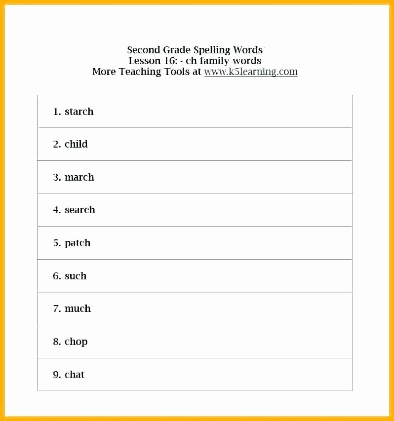 First Grade Spelling Words Worksheets Free Spelling Worksheet Fourth Grade Spelling Worksheet