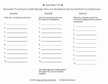First Grade Spelling Words Worksheets Spelling Worksheets First Grade Spelling Words Worksheets