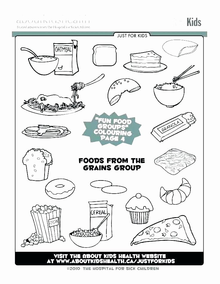 Five Food Groups Worksheets Food Pyramid Coloring Page – Suhogarinmobiliaria
