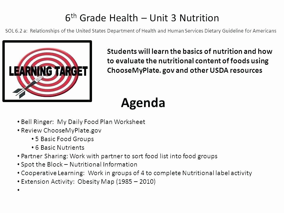 Five Food Groups Worksheets Grade Health Worksheets the Best Image Collection for