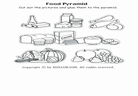 Five Food Groups Worksheets Meat Food Group Coloring Pages Printable Groups Pdf Round