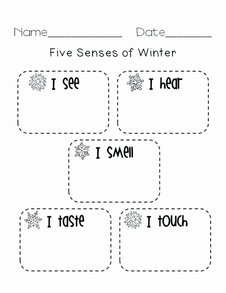 Five Senses Worksheets for Kindergarten An Hot Cold Activity Worksheet Opposites 6 Worksheets