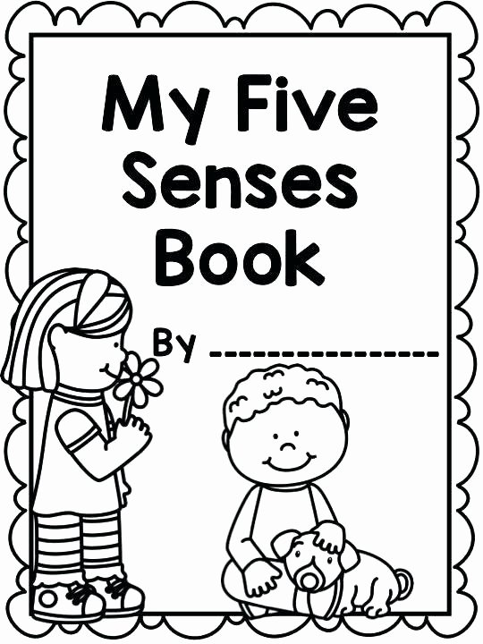 Five Senses Worksheets for Kindergarten Little Miss Kindergarten Worksheets Collection Free