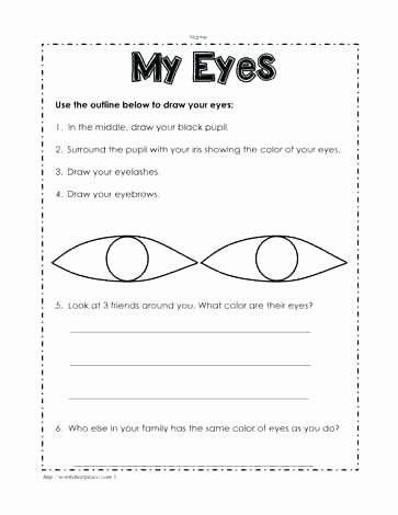 Five Senses Worksheets Pdf Inspirational 5 Senses Worksheet Teaching Preschool Five Number Sense Free
