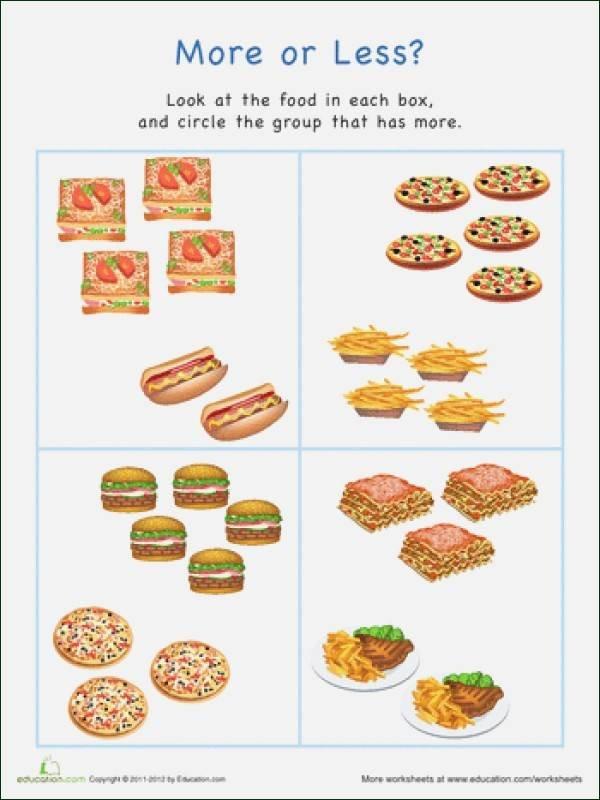 Food Group Worksheets Food Worksheets
