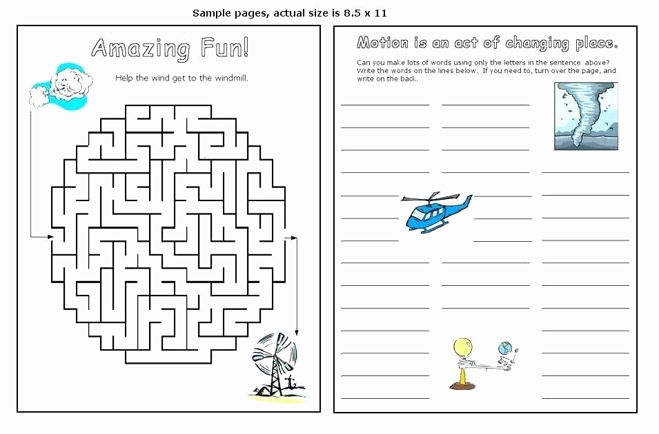 Force and Motion Printable Worksheets Free Printable force and Motion Worksheets Gallery for