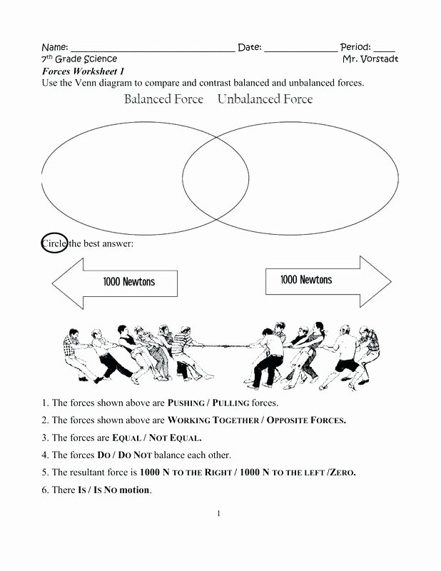 Force and Motion Printable Worksheets Grade 2 Science Worksheets force and Motion Energy for All