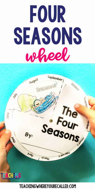 Four Seasons Kindergarten Worksheets Four Seasons Activities for Prek and Kindergarten