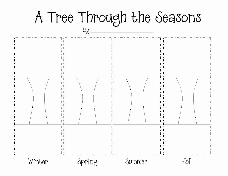 Four Seasons Kindergarten Worksheets Winter Season Worksheets for Kindergarten Four Seasons I Co