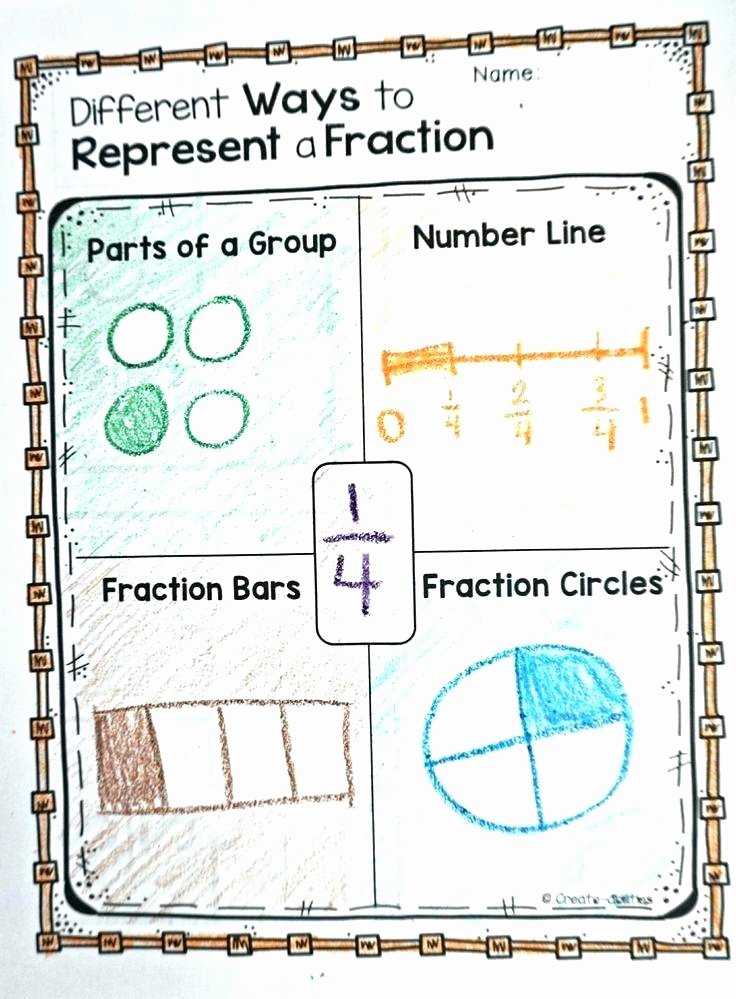 Fraction Number Line Worksheet Fractions Of A Group Worksheets