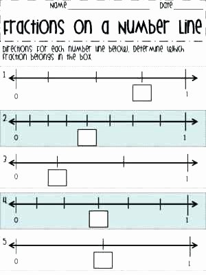 Fraction Number Line Worksheet Number Line Worksheets – Openlayers