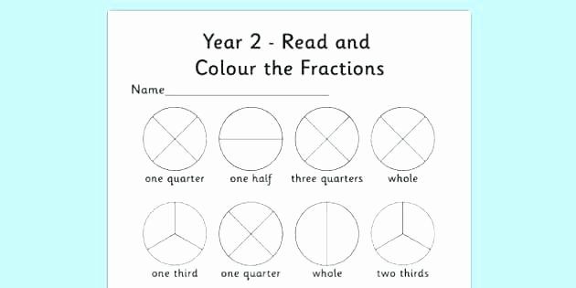 Fraction Puzzle Worksheets Fraction Worksheets for Year 2 – Mikkospace