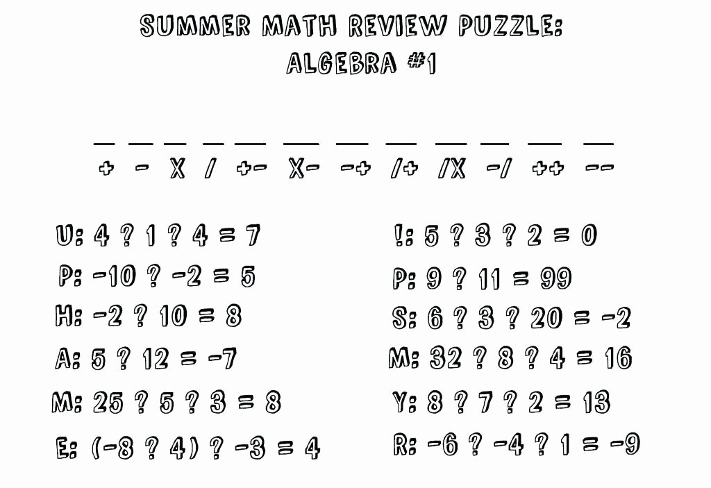 Fraction Puzzle Worksheets Geometry Puzzle Worksheets – Primalvape