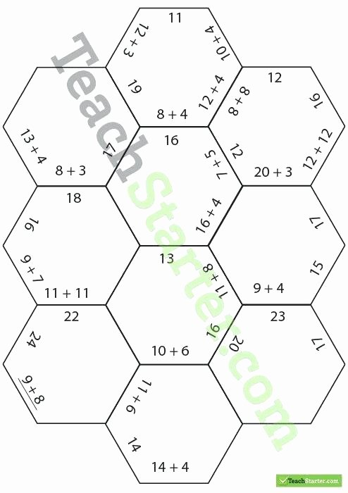 Fraction Puzzle Worksheets Multiplication Worksheets with Answers Polygon Puzzles