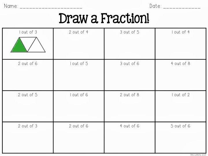Fractions Worksheets 2nd Grade Fraction Overload Math