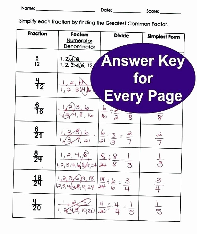 Fractions Worksheets Grade 4 Pdf 4th Grade Fraction Worksheets with Answers